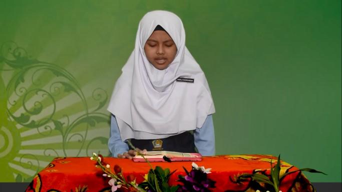 Nabila Khoirunisak dan Rifky Khoirul Anam, Raih Juara 2 dan 3 MTrQ dan MTQ Tingkat SMP/MTs se Jawa Tengah